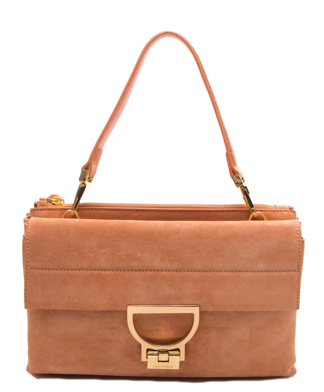 Womens Arlettis Suede Business Bag Coccinelle QmyGmSuZP