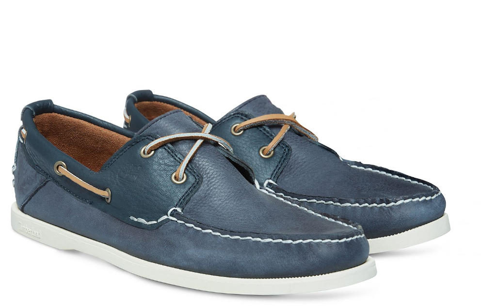 159925f5de0df4 Timberland Boat Shoes Earthkeepers® Heritage, In Leather Navyblue ...