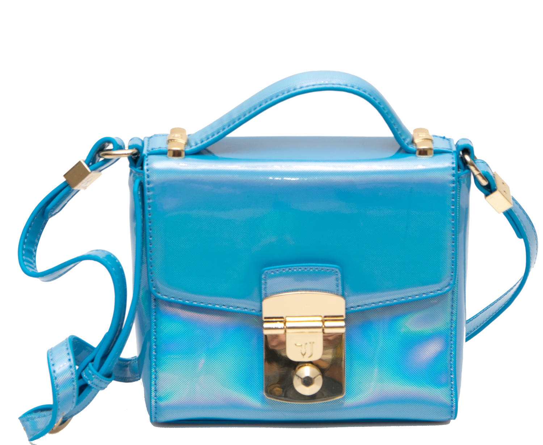 Trussardi Jeans Levanto Shoulder Bag Blue - Shop Online At Best Prices! 2436767261dd0