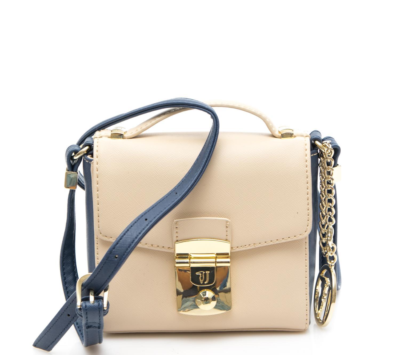 Trussardi Jeans Levanto Shoulder Bag Beige   Royal - Shop Online At ... 5c1169df78330
