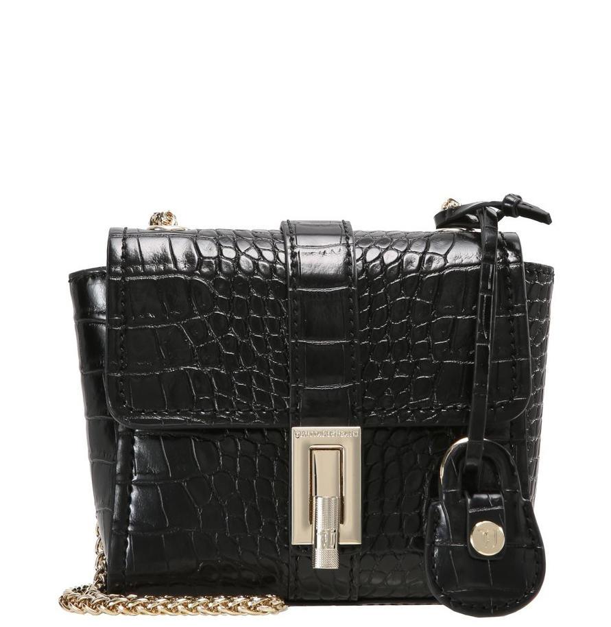 Suzanne Mini Trussardi Jeans Mini Shoulder Bag Black - Shop Online ... 619f99d434c