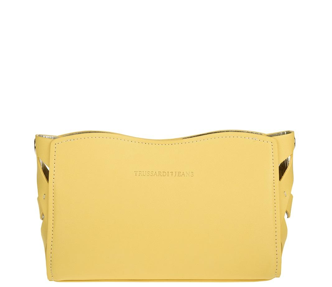 98d7e4fc67e5a Trussardi Jeans Dahlia Hand Clutch Bag