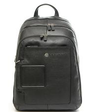 - PIQUADRO backpack VIBE out line, in leather, case for laptop up to 13""