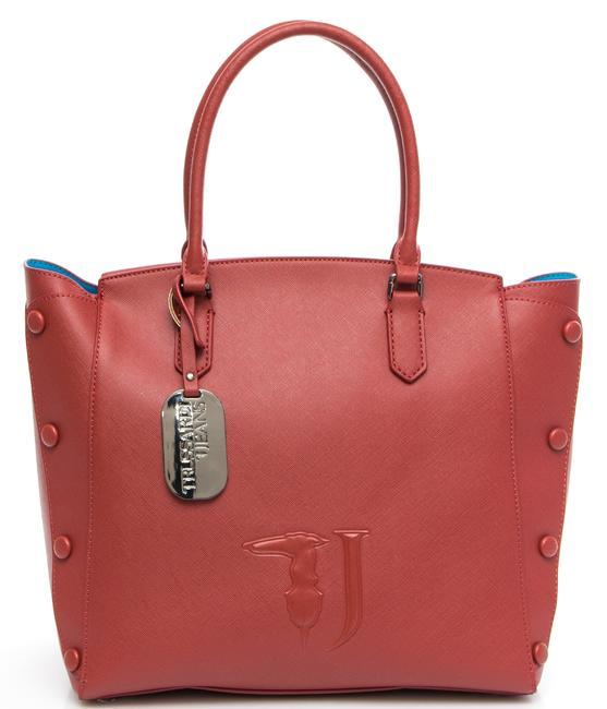 Trussardi Jeans Melissa Shoulder Bag Bordeaux - Shop Online At Best ... 3d579bbc7c629