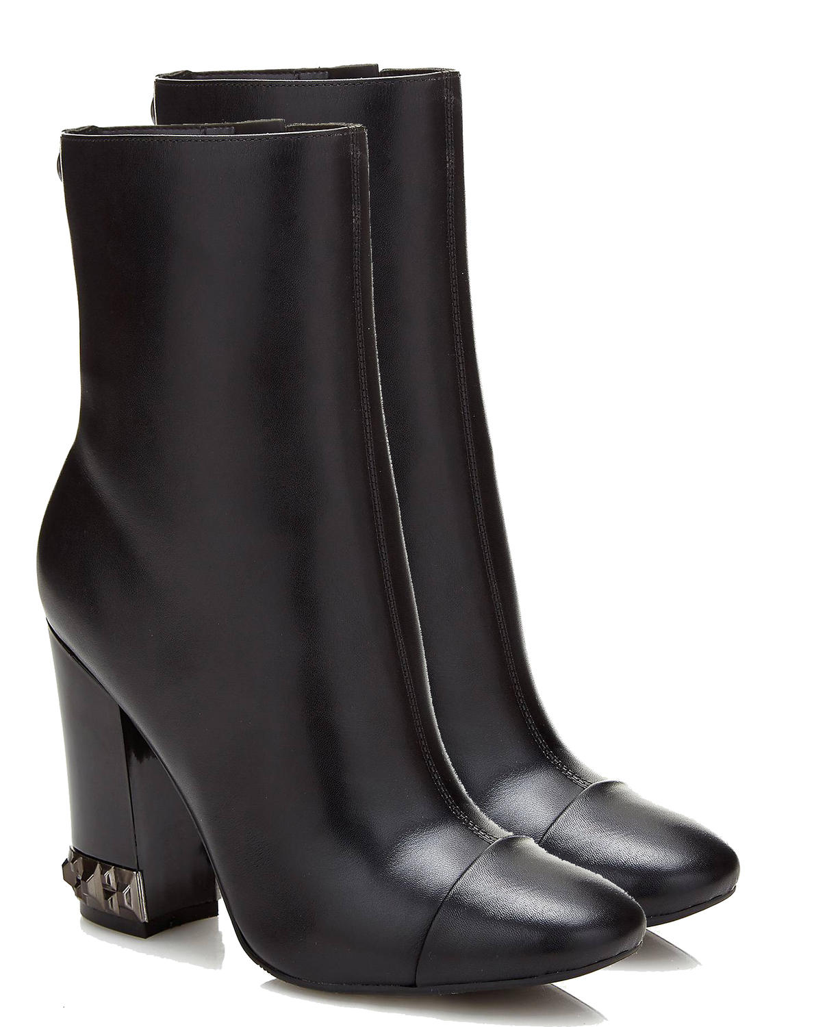 3c94edee0e Guess High Boots Ladybug, In Leather Black - Shop Online At Best Prices!