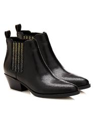 - GUESS Texan ankle boots VERLA, in leather