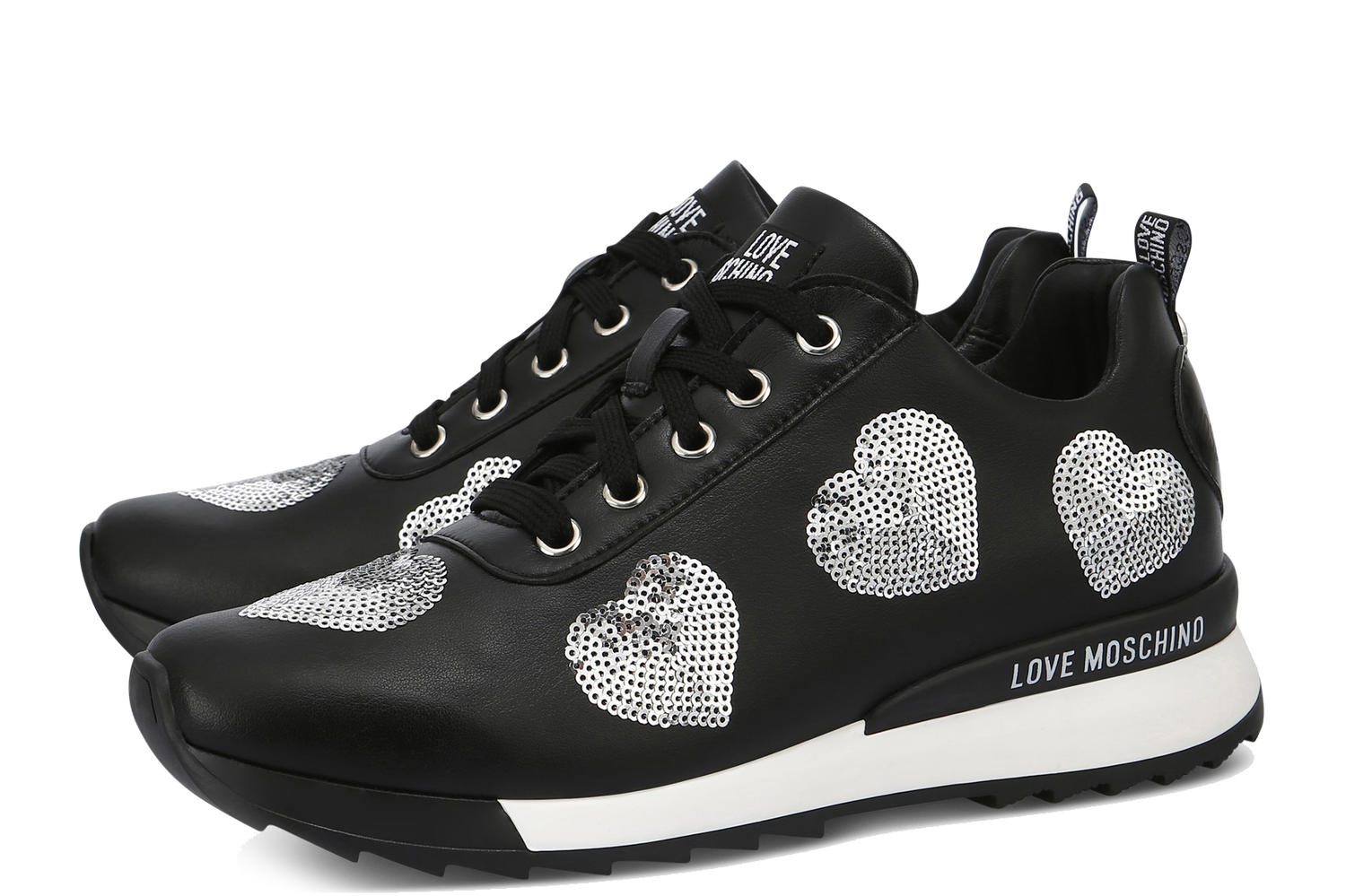 6f42ed1c0069af Love Moschino Sneakers Black - Shop Online At Best Prices!