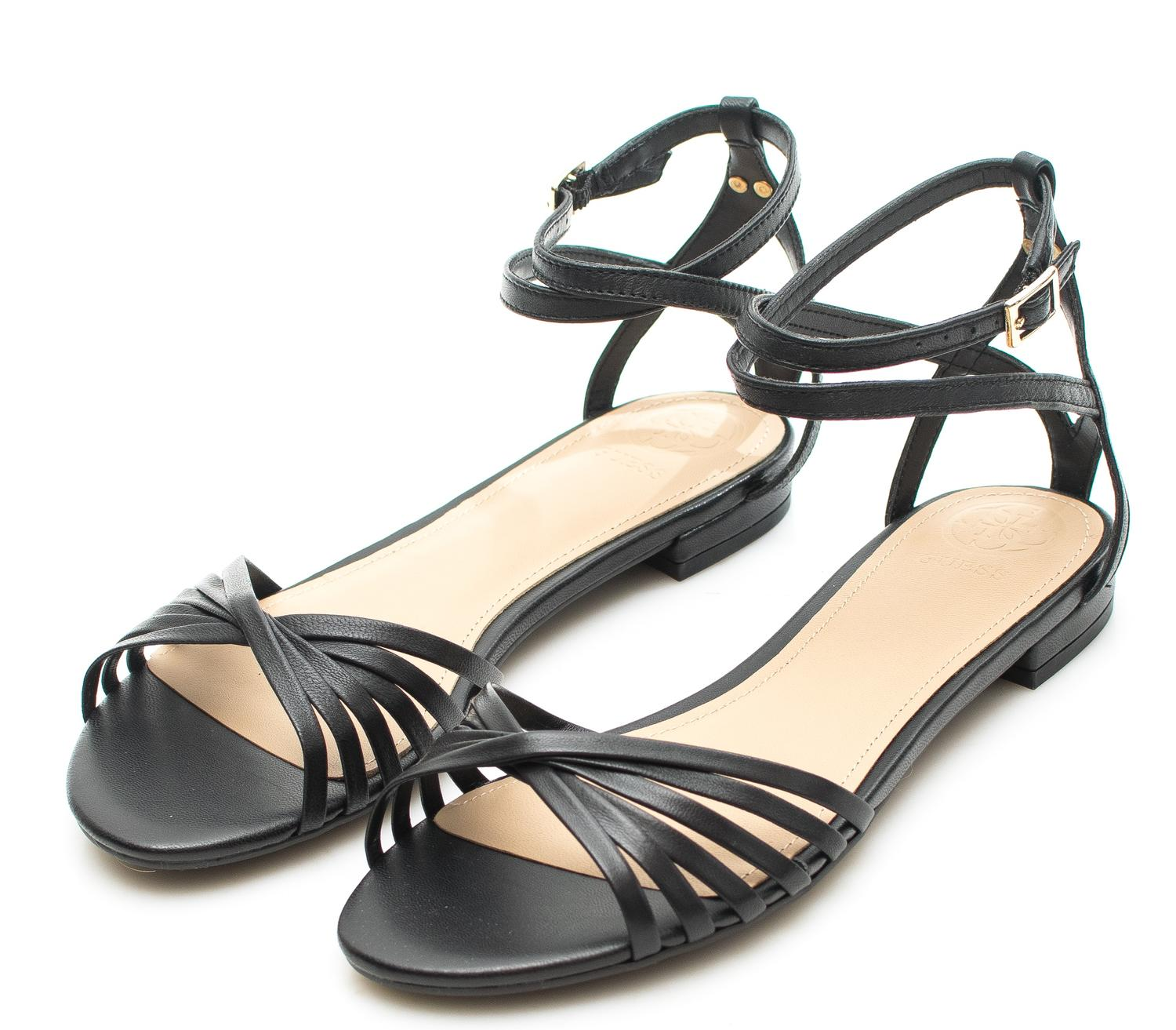 Sandals At Leather Shop Best Prices Ramziein Nv8nwom0 Guess Black Online 9YDHEI2eW
