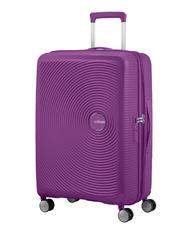 Rigid Trolley Cases - AMERICAN TOURISTER trolley case SOUNDBOX line. medium size. expandable