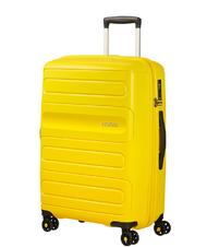 Rigid Trolley Cases - Trolley AMERICAN TOURISTER SUNSIDE line, medium size, expandable