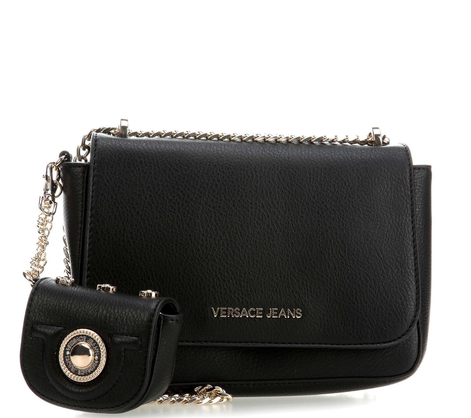 6b486ad62b Versace Jeans Shoulder Bag Black - Shop Online At Best Prices!