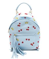 - COCCINELLE Leonie Cherry Mini Shoulder backpack in leather
