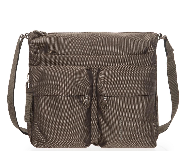 2d80e30c1f6 Mandarina Duck Md20 Shoulder Bag, Expandable Pyrite - Shop Online At ...