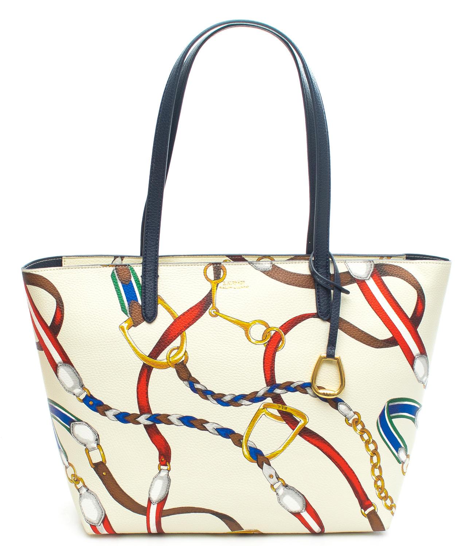 92c843725 Ralph Lauren Merrimack Shoulder Bag Shopping Natural - Shop Online ...