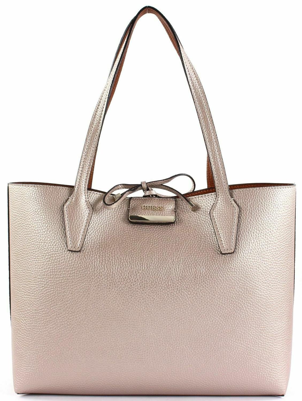 897780fcc49 Guess Bobbi Inside Out 2 In 1 Shoulder Bag, Reversible Pale Bronze ...