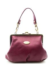 - BRACCIALINI clutch bag Leather mini bag by hand, with shoulder strap