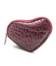 Sachets & Travels Cases - wallet LOVE FANTASY, in reptile print leather