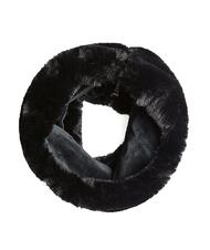 - Neck GUESS Ring scarf in synthetic fur