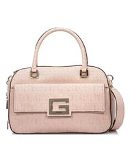 - GUESS Brightside Satchel Handbag with shoulder strap