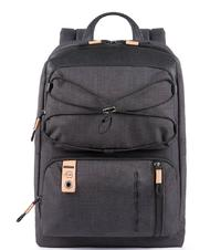 "- PIQUADRO backpack BLAME, technical fabric 14"" PC case"
