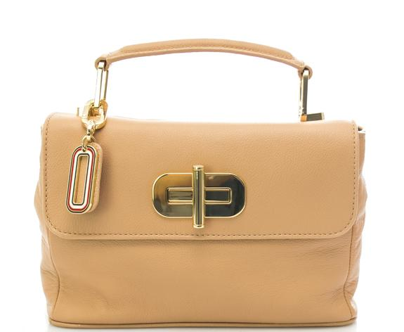 Women's Bags - TOMMY HILFIGER Elevated Handbag in hammered leather