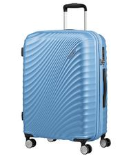 Rigid Trolley Cases - Trolley AMERICAN TOURISTER JETGLAM line, medium size, expandable