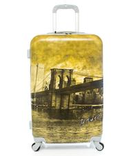 Rigid Trolley Cases - Trolley YNOT? CITY PRINT, medium size
