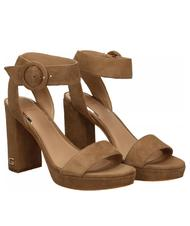 - High Sandals GUESS BRENDY, in suede leather