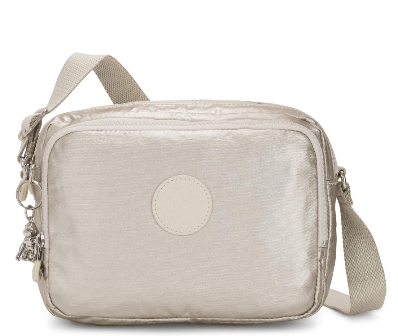 Desenmarañar insuficiente de  Kipling Silen Over The Shoulder Bag Cloud Metal - Shop Online At Best  Prices!