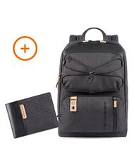 PIQUADRO Laptop Backpack + Wallet