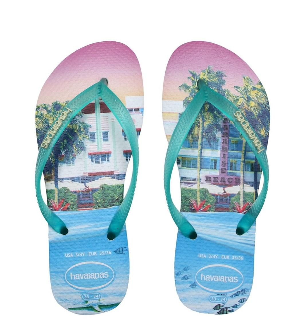 Women's shoes -  SLIM PAISAGE flip flops