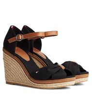 - TOMMY HILFIGER ICONIC ELBA Open toe high sandals