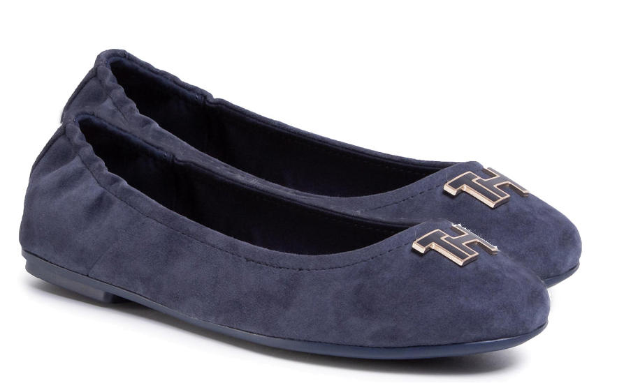 Women's shoes -  TH Leather ballerinas