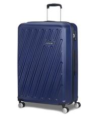 Rigid Trolley Cases - AMERICAN TOURISTER HYPERCUBE Medium size trolley, with TSA