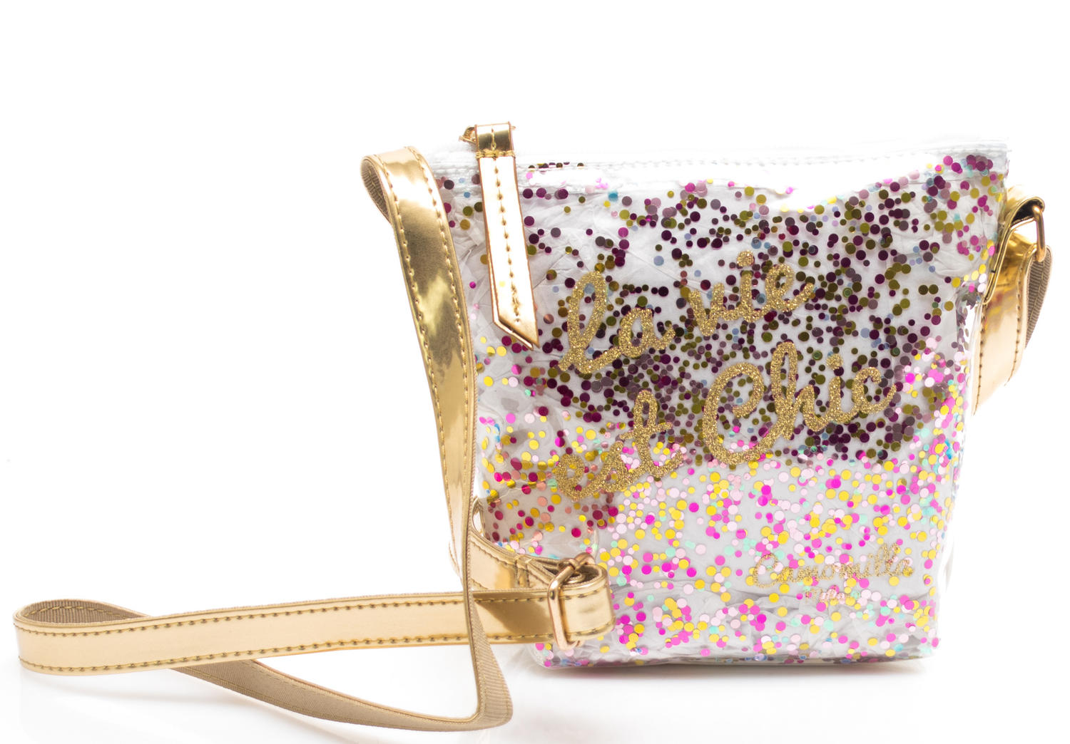 Kids bags and accessories - MANZANILLA CRYSTAL Mini shoulder bag