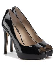 - GUESS HADIE Open toe high heels, in patent leather