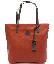 - TIMBERLAND New Berry  Shopping bag, in embossed fabric and leather