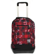 - YUB JACK URBAN Backpack with trolley, with print