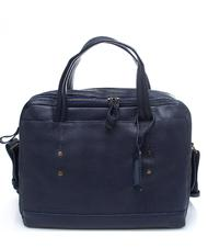 - TIMBERLAND TOLLAND Briefcase in tumbled leather