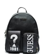 - GUESS UTILITY VIBE LARGE Logo print backpack