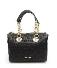 - POLLEN HERITAGE EMBOSSED Mini top case with shoulder strap