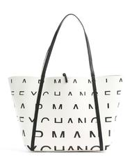 - A|X ARMANI EXCHANGE SHOPPING BAG with hearts pattern