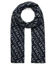 - A|X ARMANI EXCHANGE SCARF with all over logo