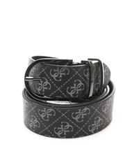 - GUESS MANHATTAN Logo print belt