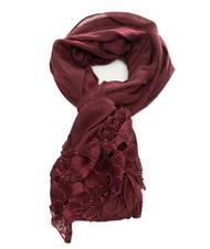 - GUESS Polyester and viscose scarf