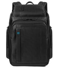 "- PIQUADRO backpack P16, 15.6 ""PC holder, double compartment"