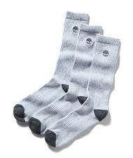 Men's Socks - TIMBERLAND Three pairs of men's socks