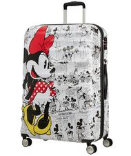 Rigid Trolley Cases - AMERICAN TOURISTER WAVEBREAKER DISNEY Large trolley