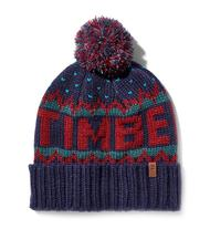 Hats - TIMBERLAND Hat with pom poms