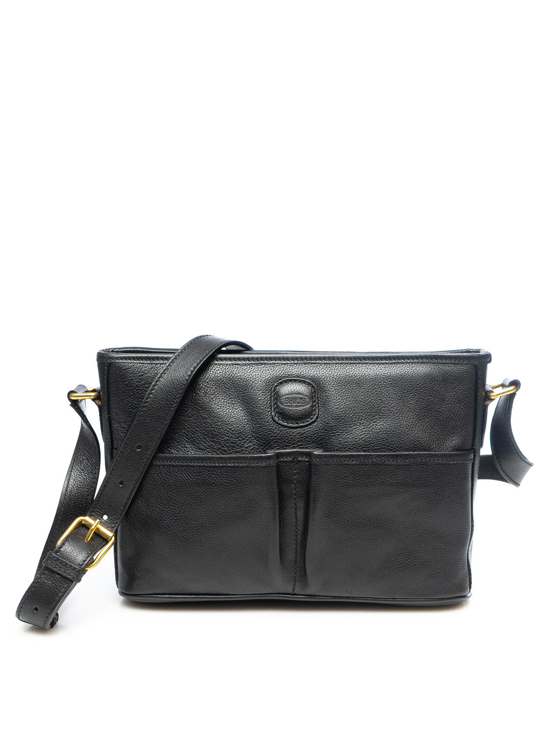 Women's Bags - LIFE Leather shoulder bag